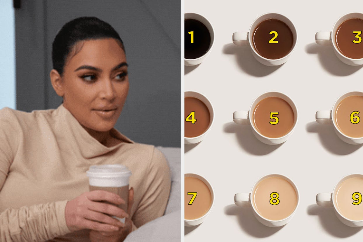 I Need To Know I'm Not The Only One Who Thinks About This: What Color Do You Like Your Coffee To Be?