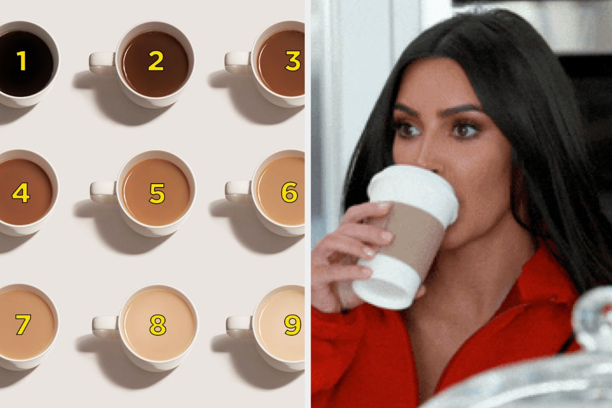 I Can't Be The Only One Who's Particular About What Color Their Coffee Is, So I Made This Poll To See