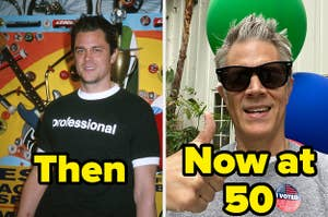 johnny knoxville then and now