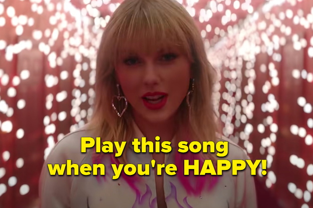 Taylor Swift Has Different Songs For Different Moods, So Let's See Which Ones You'd Choose