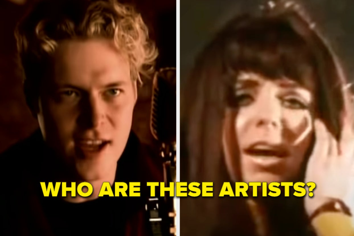 People Are Sharing Famous Songs Where People Can't Name The Artist, And WOW