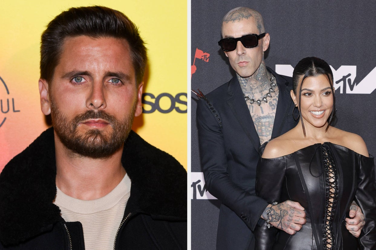 """Scott Disick Broke His Instagram Silence After Reports Claimed He Was """"Not Happy At All"""" And """"Very Jealous"""" Following The News Of Kourtney Kardashian And Travis Barker's Engagement"""