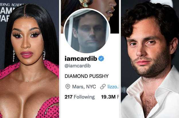 I Cannot Stop Cackling At Penn Badgley And Cardi B's Twitter Exchange