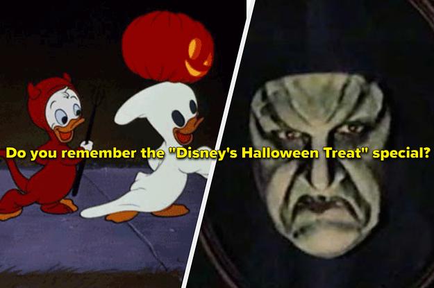 """Enjoy This Nostalgic Trip Down Memory Lane With """"Disney's Halloween Treat"""""""