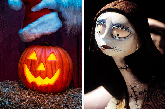"""We Know Which """"Nightmare Before Christmas"""" Character You Are Based On How You Deck The Halls For Halloween Christmas"""