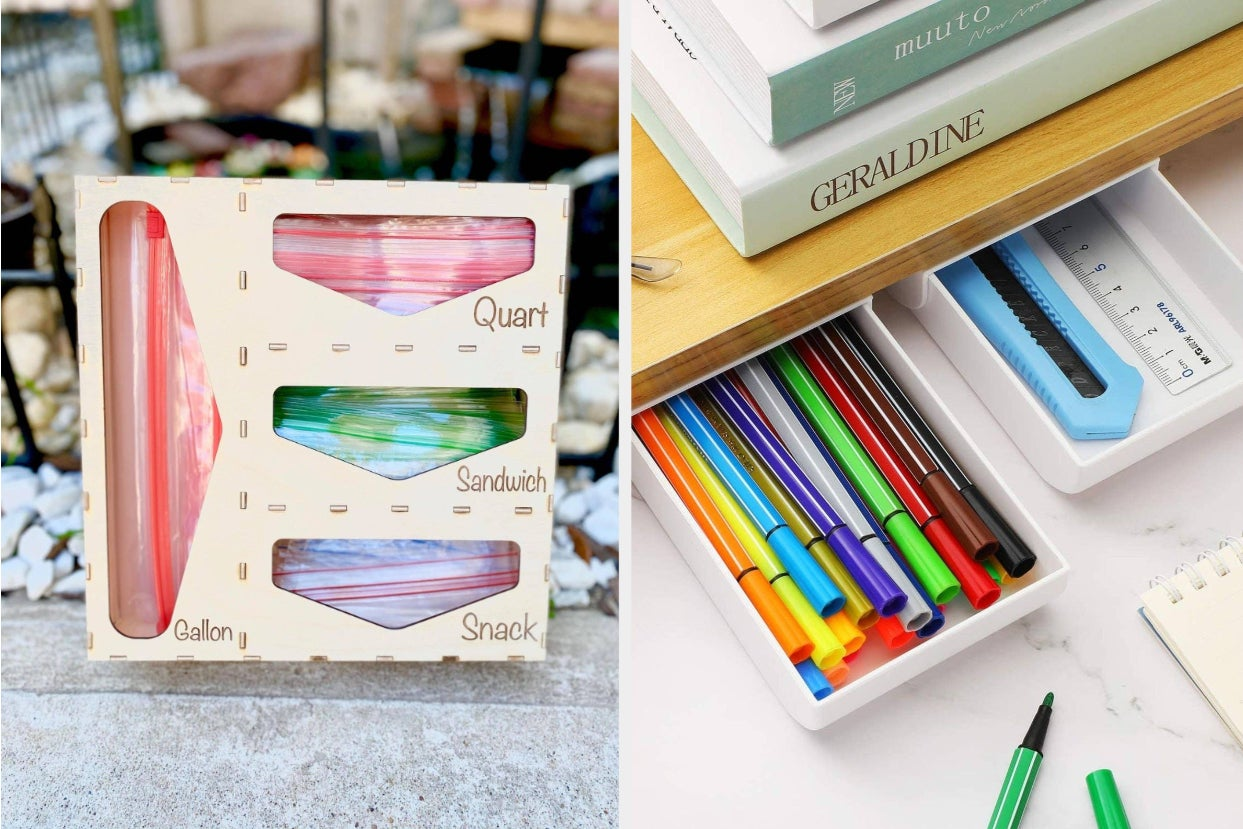 28 Organizational Products Thatll Keep You From Shoving Things In Every Random Corner