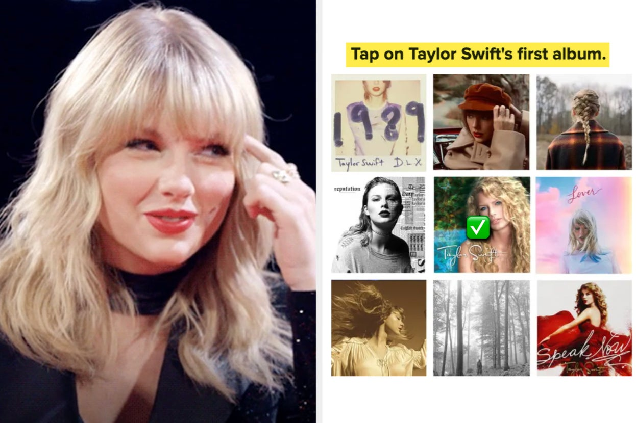 This Test Will Be Hard For The Average Person, But Easy As Pie If You're A Swiftie