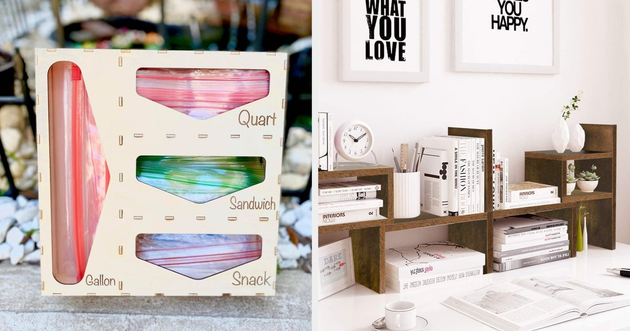 28 Organizational Products That'll Keep You From Shoving Things In Every Random Corner