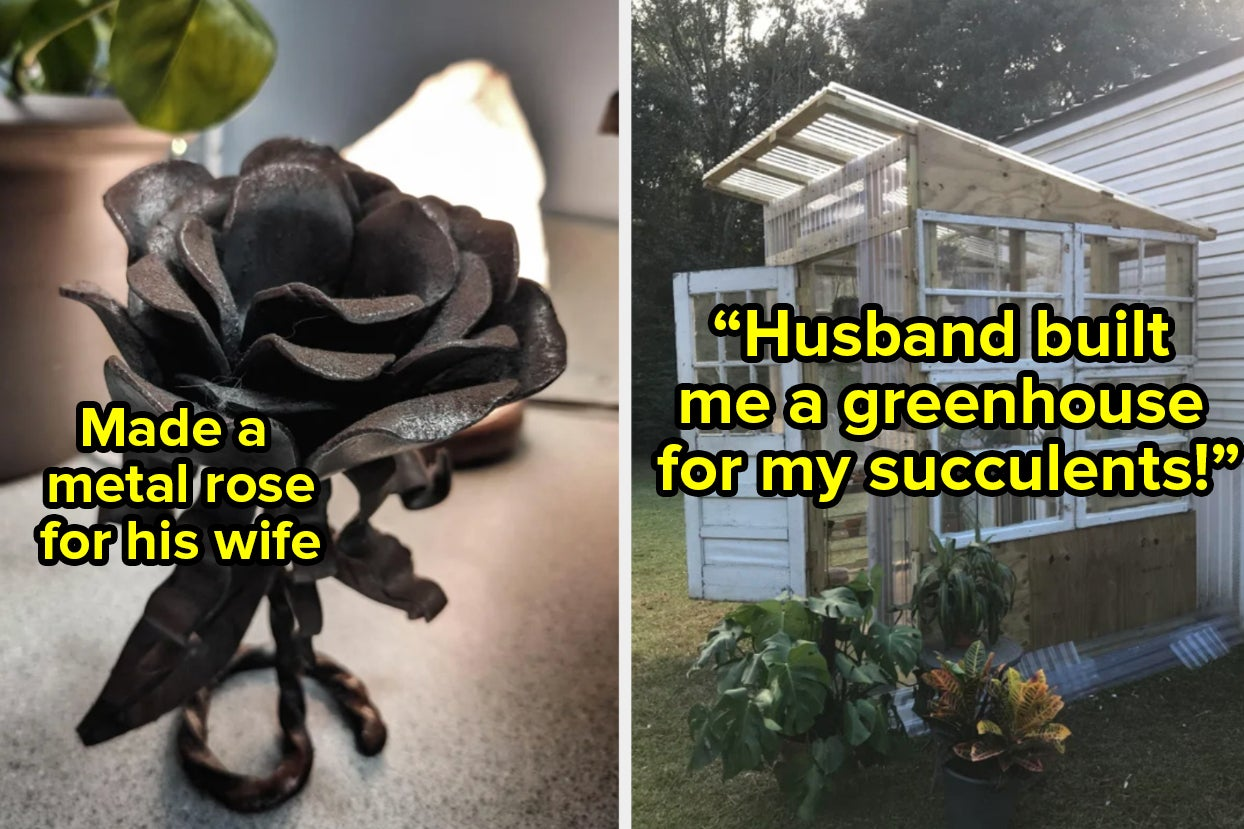 23 Husbands Whose Love Language Is Clearly Giving The World's Greatest Gifts
