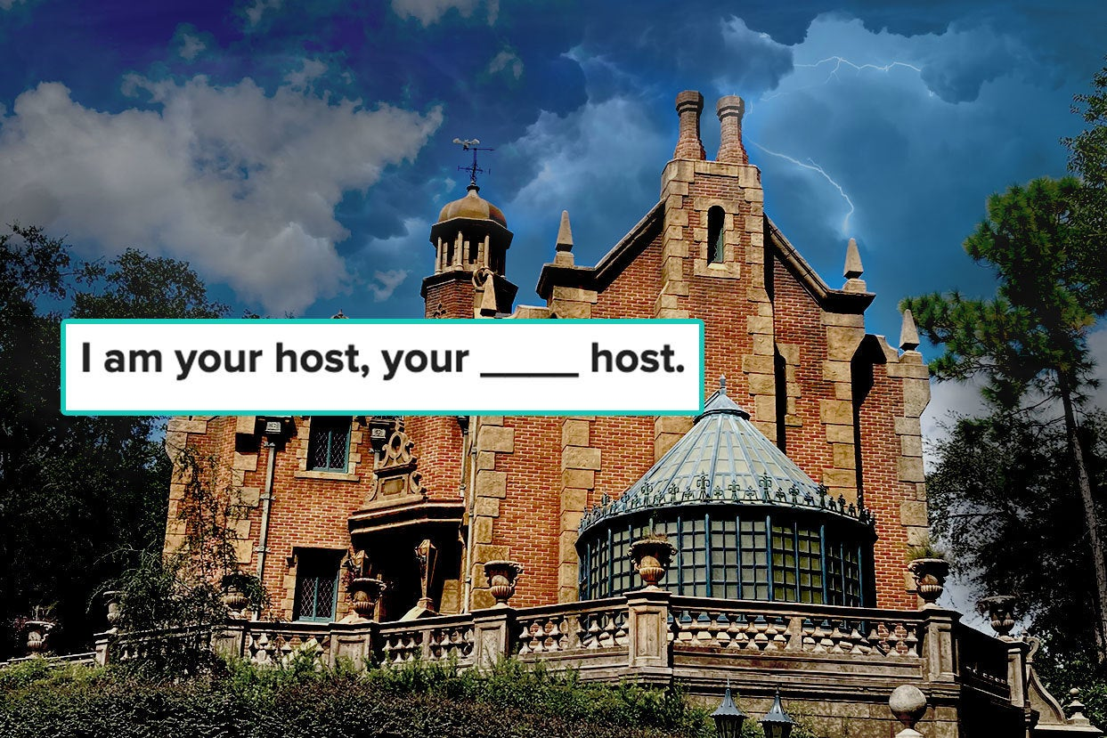 If You Pass This Quiz, You Like The Haunted Mansion Too Much