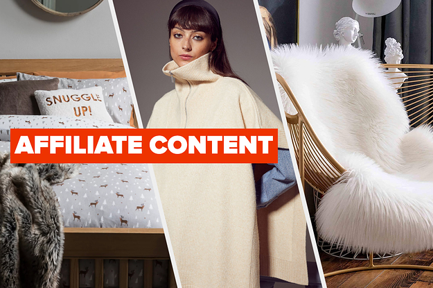 30 Products That Are As Chic As They Are Cosy
