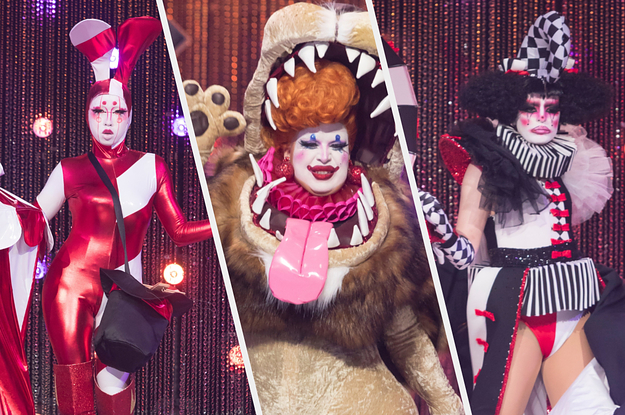 """18 Moments From """"Canada's Drag Race"""" Season 2 Episode 1 """"Under The Big Top"""""""