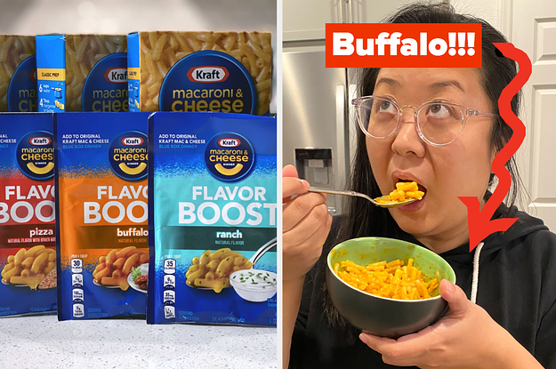 """I Tried These New Kraft Mac & Cheese """"Flavor Boosters,"""" And Here's What They're Like"""