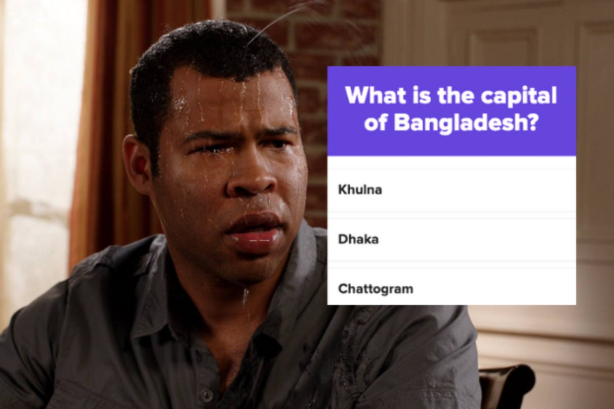 I Gathered Up The Most Unknown And Difficult Country Capital Cities — How Far Can You Make It?