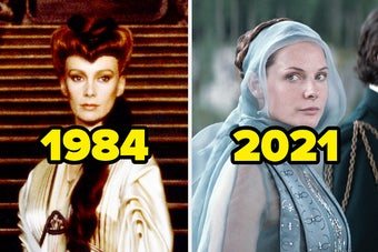 Lady Jessica in 1984 and 2021
