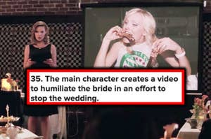 """""""the main character creates a video to humiliate the bride"""""""
