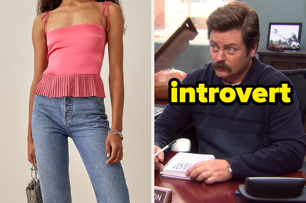 Dress Yourself From Head To Toe And We'll Guess If You're An Introvert, Extrovert, Or Ambivert