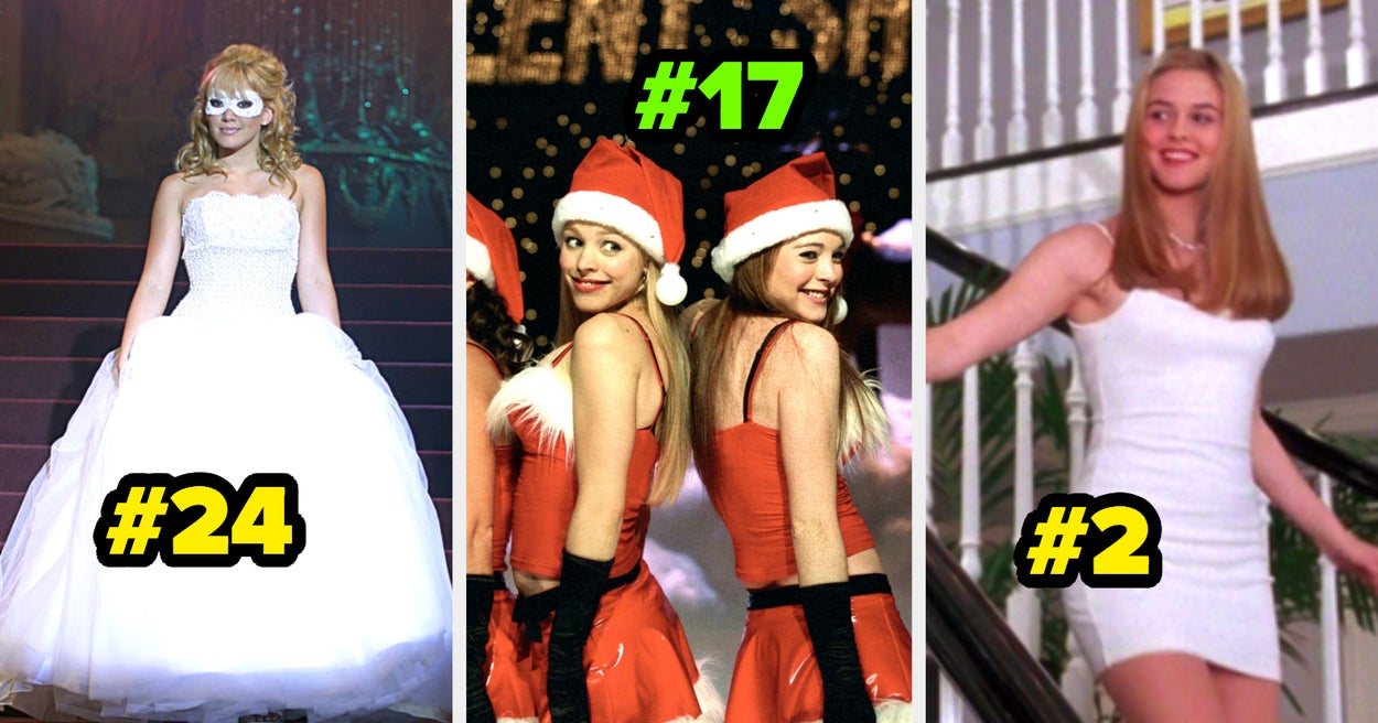 """26 Outfits From Teen Movies, Ranked From """"Oof"""" To """"This Is Worth A Billion Dollars"""""""