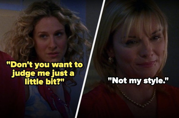"""21 Samantha Jones From """"Sex And The City"""" Moments That Will Never Not Be Iconic"""