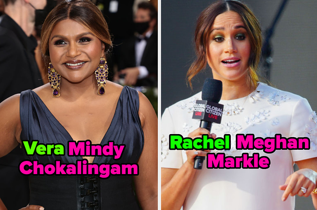 24 Celebrities Who I Never Realized Were Going By Their Middle Name My Whole Darn Life