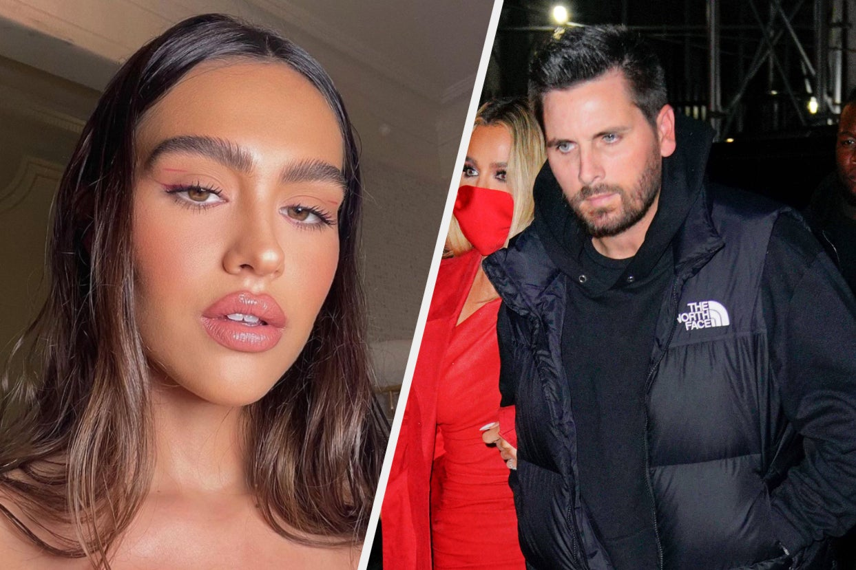 Amelia Hamlin Appeared To Throw Some Shade On Instagram After Scott Disick Was Pictured With Another Woman In His First Public Appearance Since Kourtney Kardashian And Travis Barker's Engagement