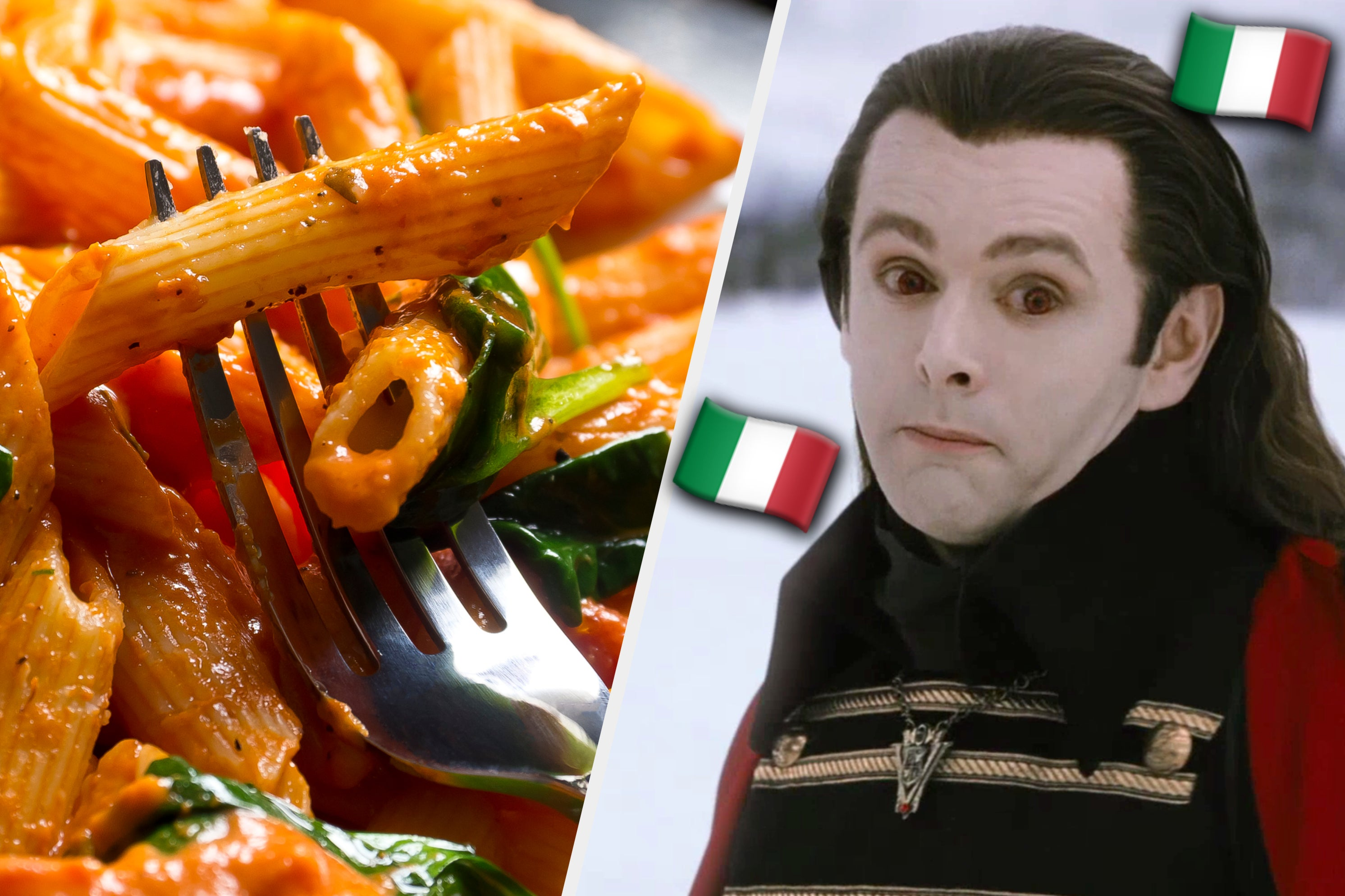 We Know If You're A Witch Or A Vampire Based On This Italian Vs. American Food Quiz