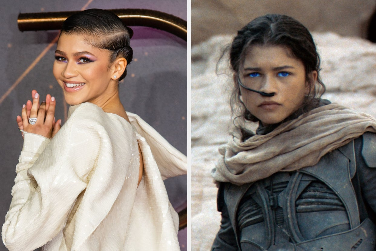 """The Internet Is Discovering That Zendaya Is Barely In """"Dune,"""" And They Are Not Pleased"""