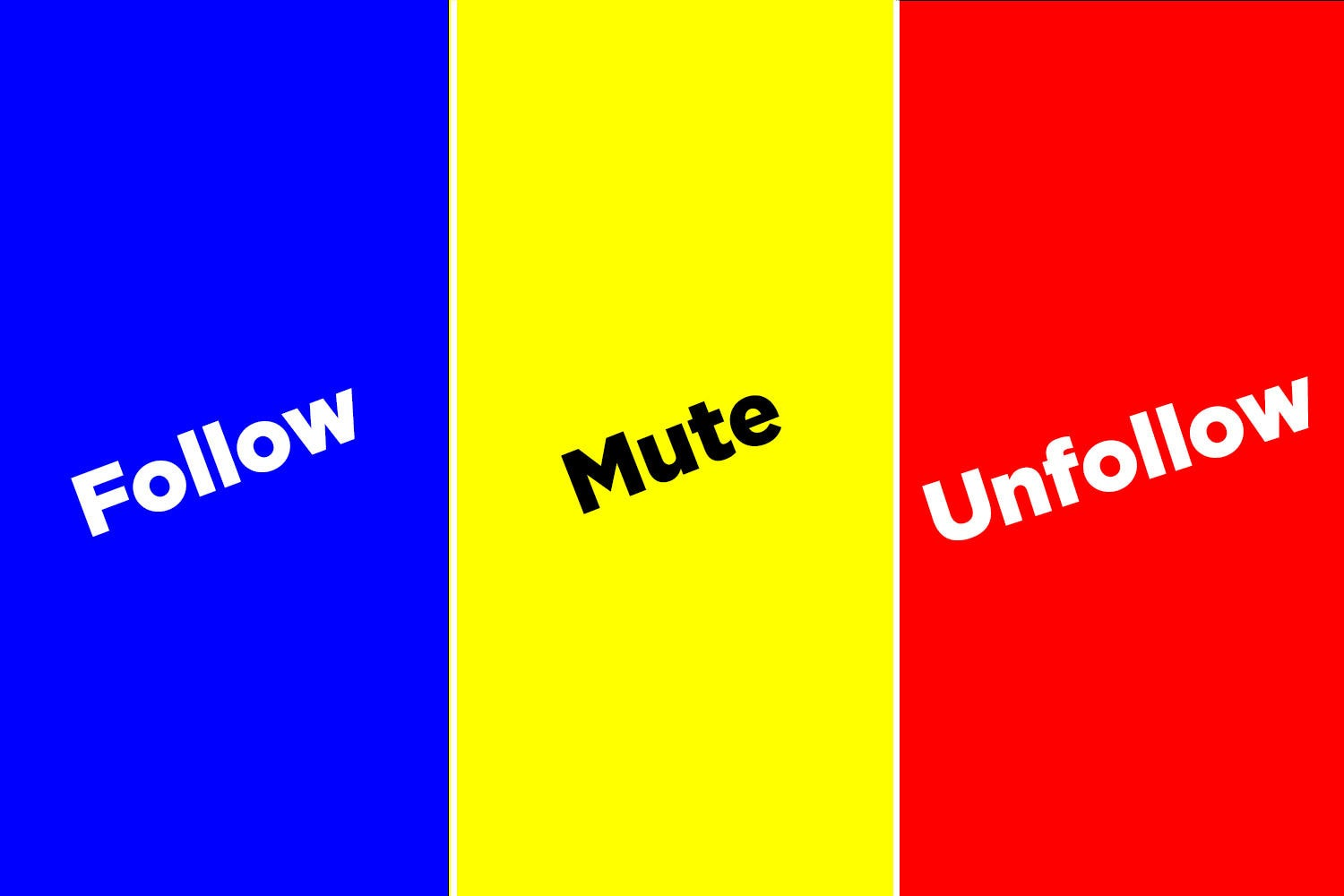Would You Follow, Mute, Or Unfollow People Who Do These Things On Social Media?
