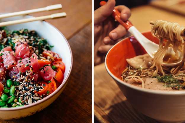 Take This Quiz And Let's See If You're More Of A Ramen Person Or Poke Person