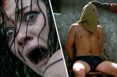 The Evil Dead (2013) side by side with Hostel