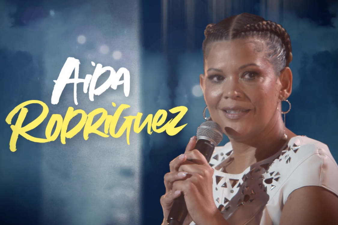 """The Trailer For Aida Rodriguez's Stand-Up Special Just Dropped, And She Brought Her """"Fighting Words"""" With Her"""