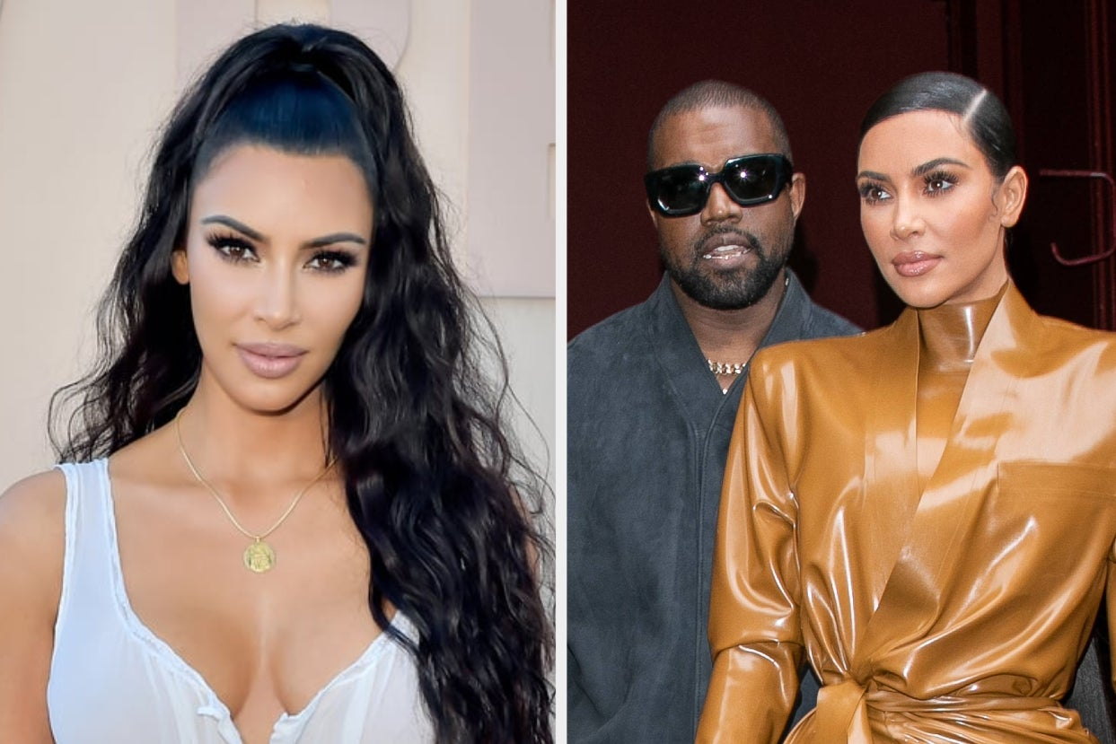 """Kim Kardashian Spoke About What It's Like Remaining Business Partners With Kanye West Who Still Has A Stake In Skims Weeks After They Were Rumored To Be """"Rebuilding Their Relationship"""" And Reconsidering Divorce"""