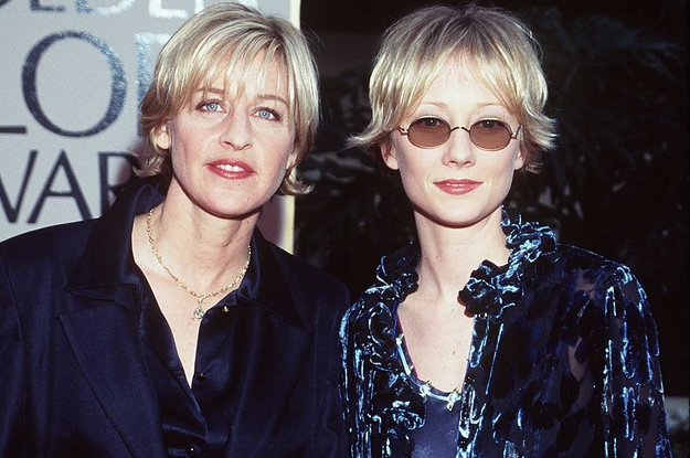 """Anne Heche Believes She Was """"Blacklisted"""" In Hollywood For Dating Ellen DeGeneres"""