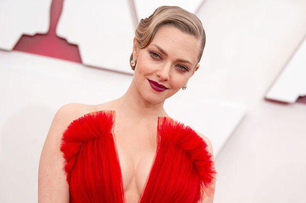 """Amanda Seyfried Recalled Having An """"Extra Level Of Trauma"""" When She Gave Birth To Her Son"""