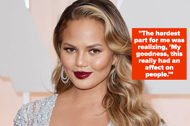 Chrissy Teigen Opened Up About Sobriety And Reflected On Her Cyberbullying Scandal