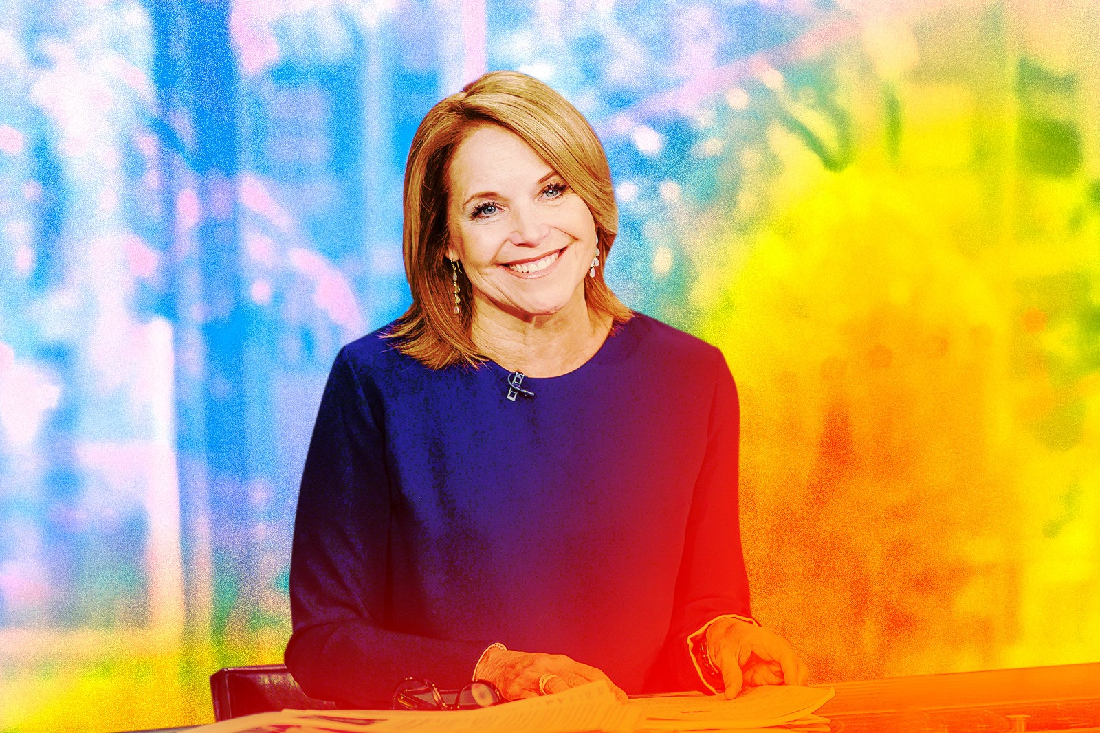Katie Couric's Memoir Actually Goes There