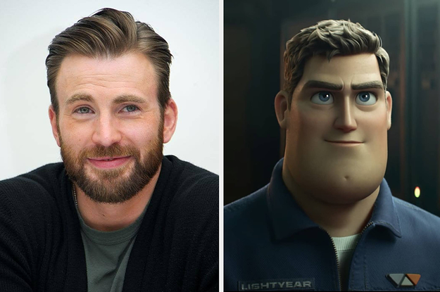 """The First Trailer For """"Lightyear"""" Was Just Released, And Chris Evans' Reaction To It Was As Adorable As You Would Think"""