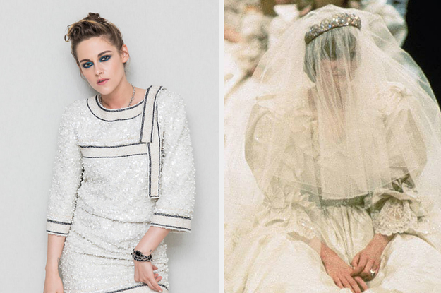 Kristen Stewart Says That Wearing A Replica Of Princess Diana's Wedding Dress For