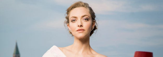 Amanda Seyfried poses for a portrait wearing a Jaeger-LeCoultre watch