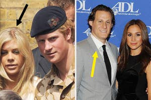 prince harry and megan markle before they were married in other relationships