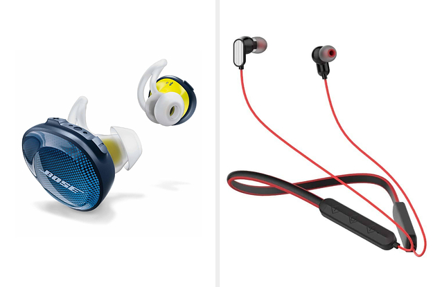 15 Sweat-Resistant Workout Earphones That Can Be Yours For A Steal