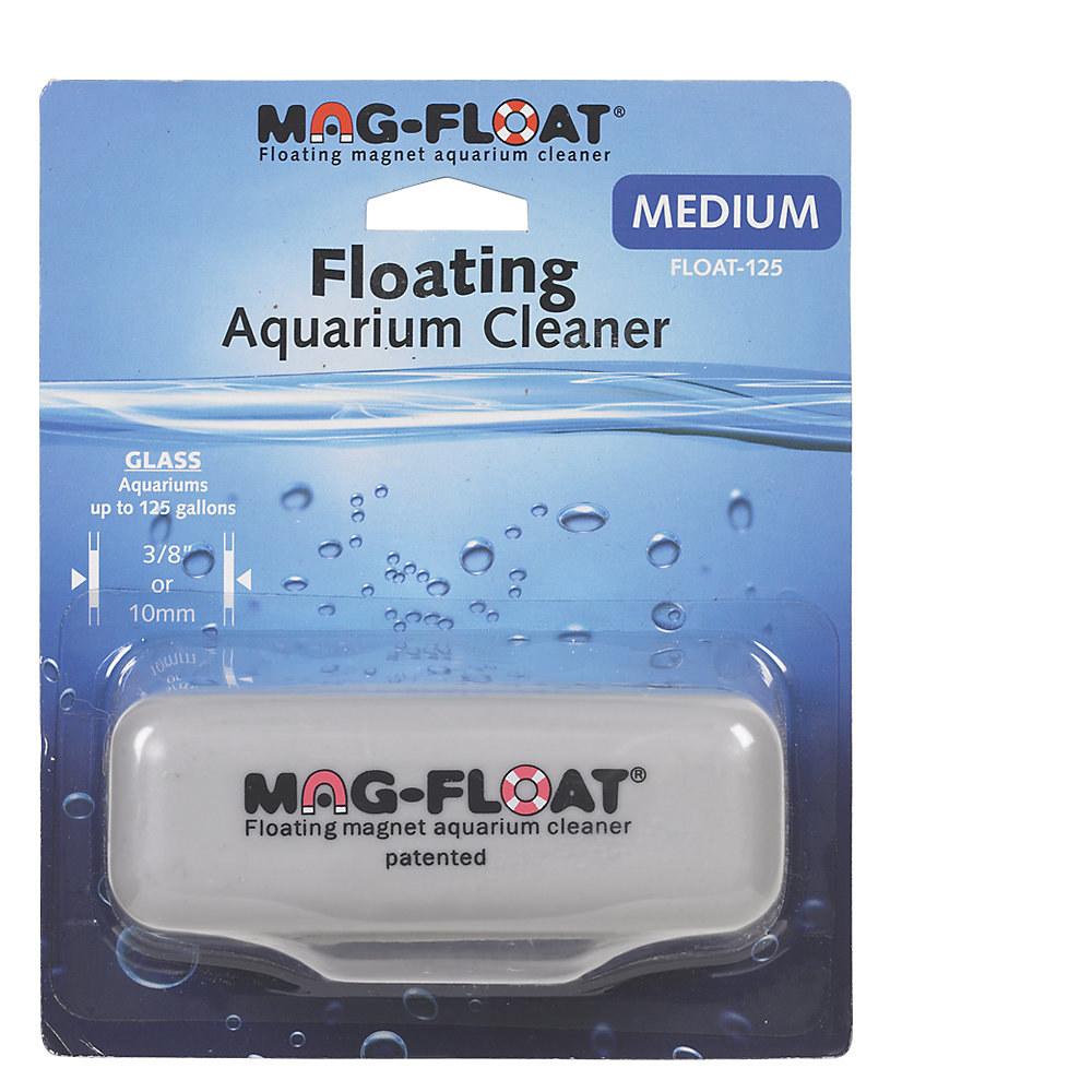 floating aquarium cleaner in packaging