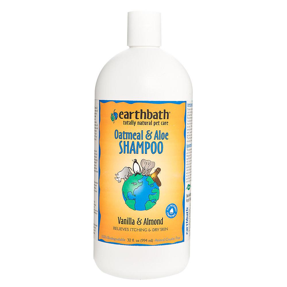 bottle of pet shampoo