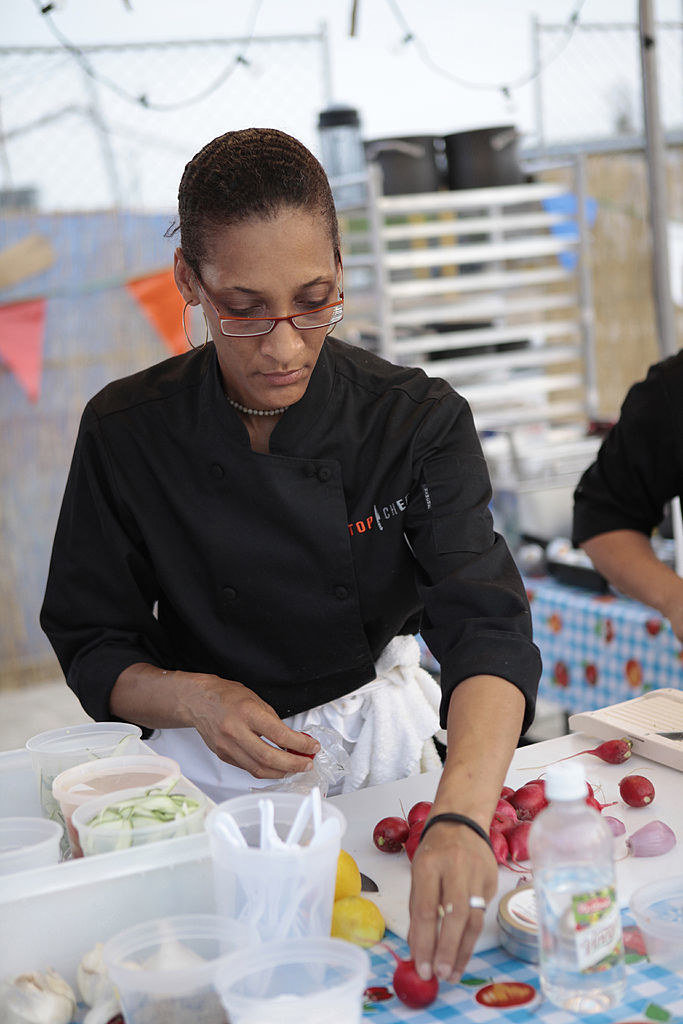 Carla Hall during Top Chef