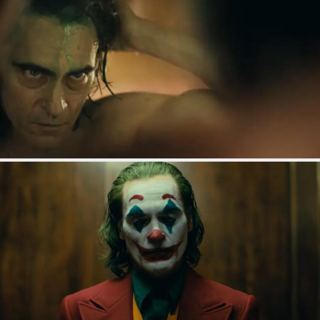 Joker dying his hair green