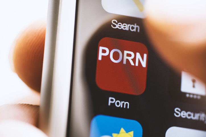 """An iphone app that says """"PORN"""""""