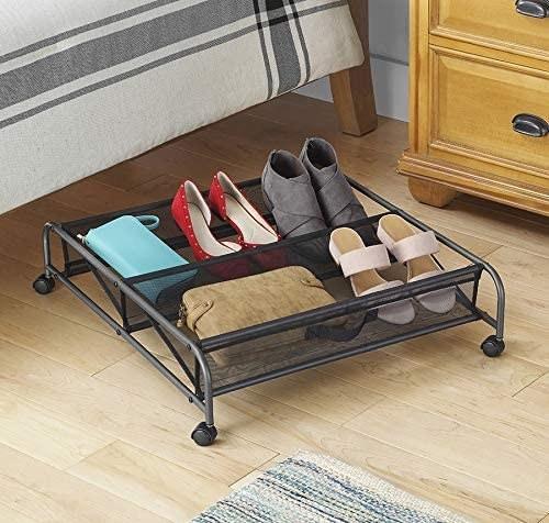 Carrito organizador para debajo de la cama