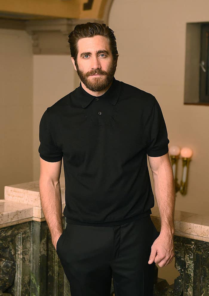 Jake Gyllenhaal attends the opening night of the New York City Center Encores! Off-Center production of 'Little Shop of Horrors'