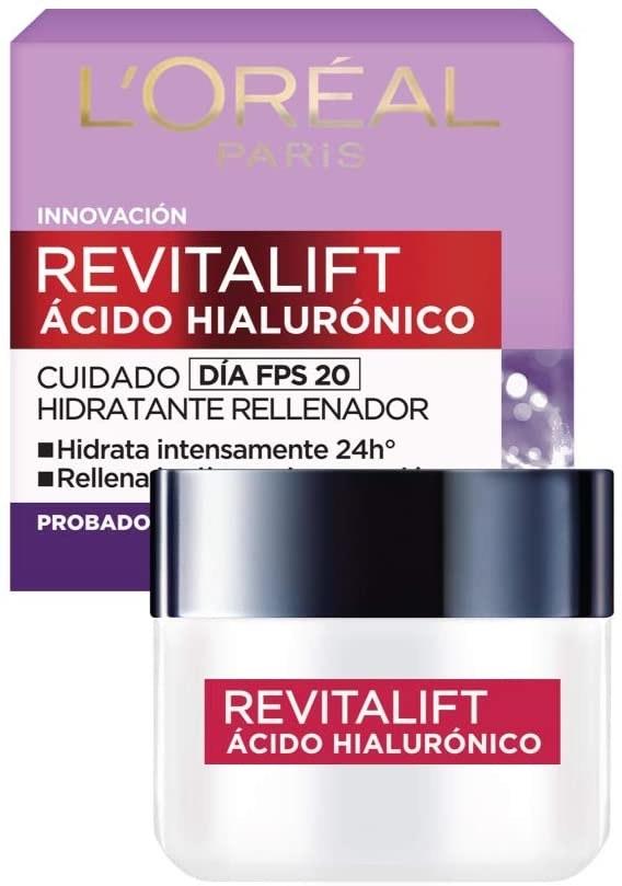 Crema hidratante con ácido hialurónico