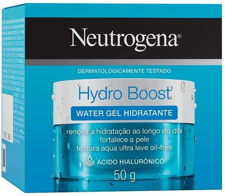 Gel facial hidratante y humectante